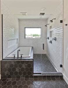 tile care & maintenance walk-in shower